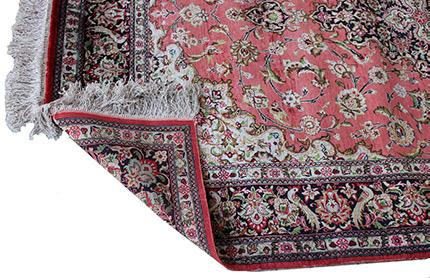 Teppich aus Seide mit hochwertigem Muster