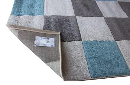 Sauberer Teppich nach Reinigung
