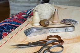 Teppichreparatur mit Expertenwerkzeug