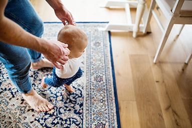 Teppichreinigung mit ph-neutraler Seife
