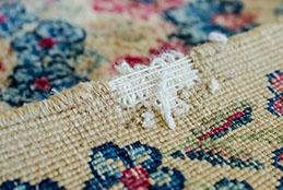 Erneuerung von Teppichfasern