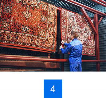 Teppichkontrolle und Qualitätssicherung