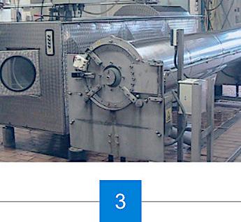 Prozess der Teppichtrocknung
