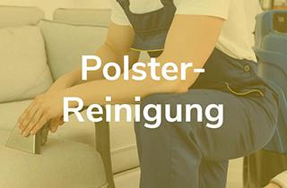 Fachmann bearbeitet Polster