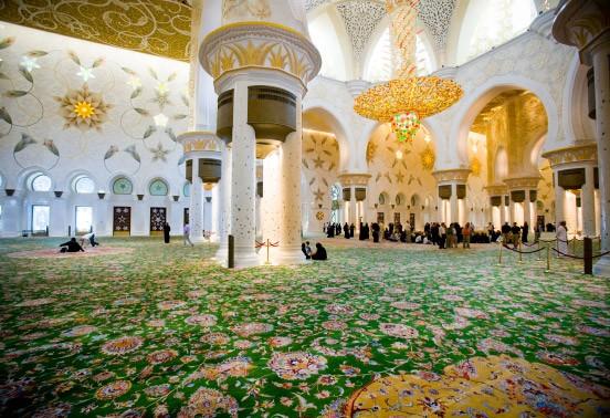 Bild vom größten Teppich der Welt