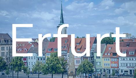 Übersichtsbild Standort Erfurt