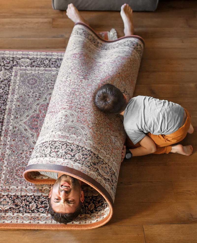 Teppiche machen das Haus gemütlich