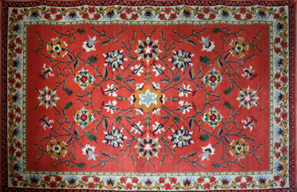 Feiner Teppich aus dem Orient