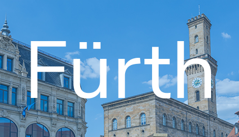 Übersicht Standort Fürth